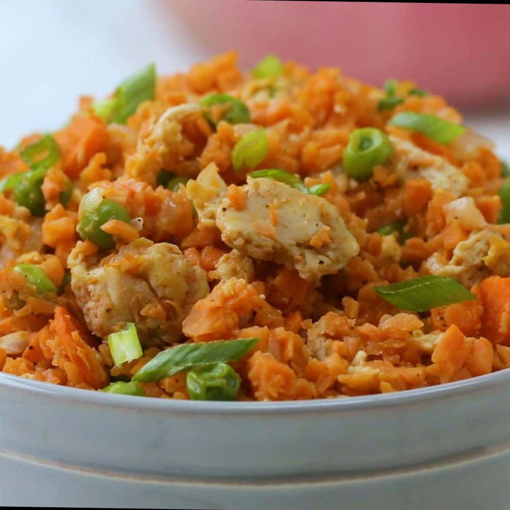 Sweet potato fried rice recipe by tasty by crystal hatch forumfinder
