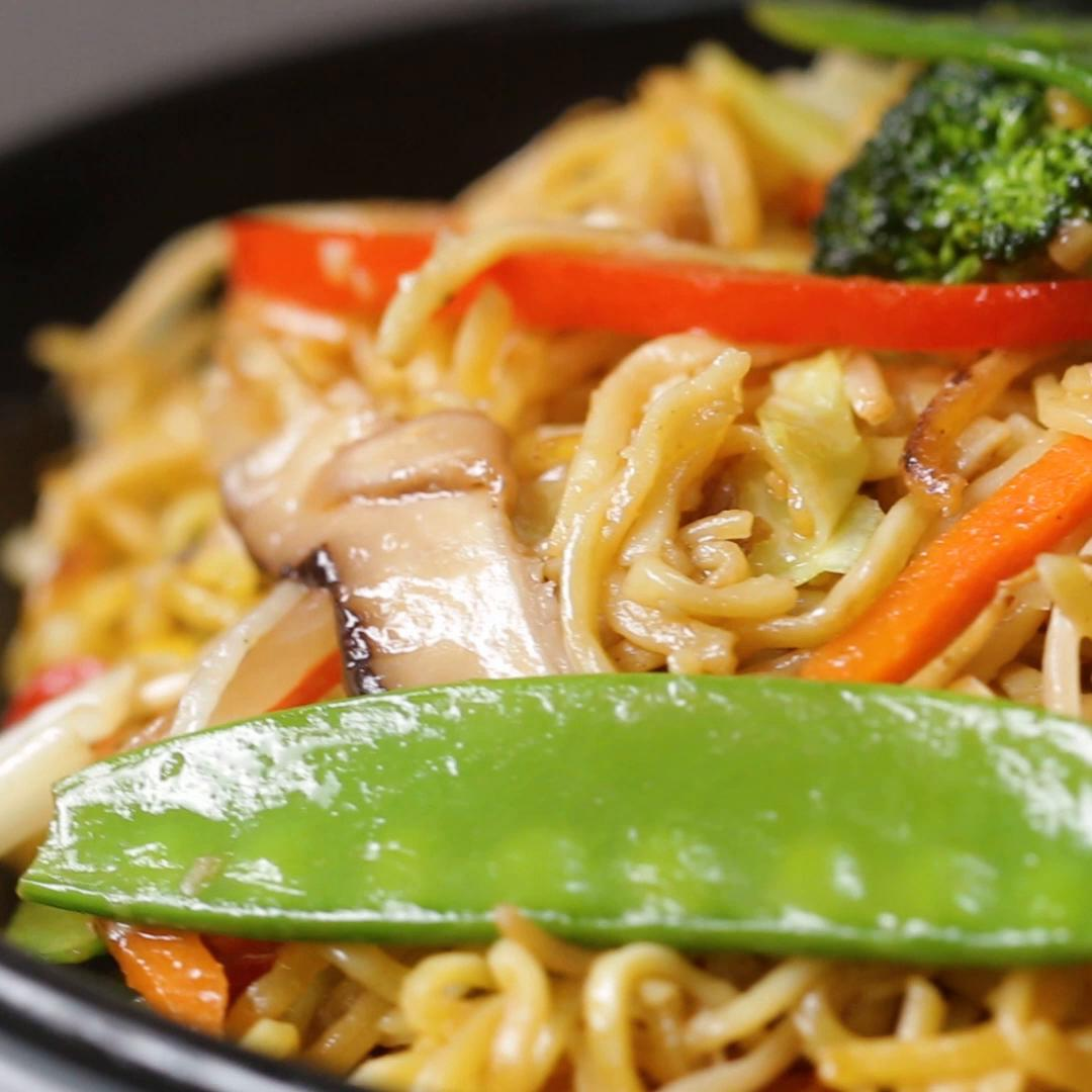 Veggie Packed Chow Mein Recipe By Tasty