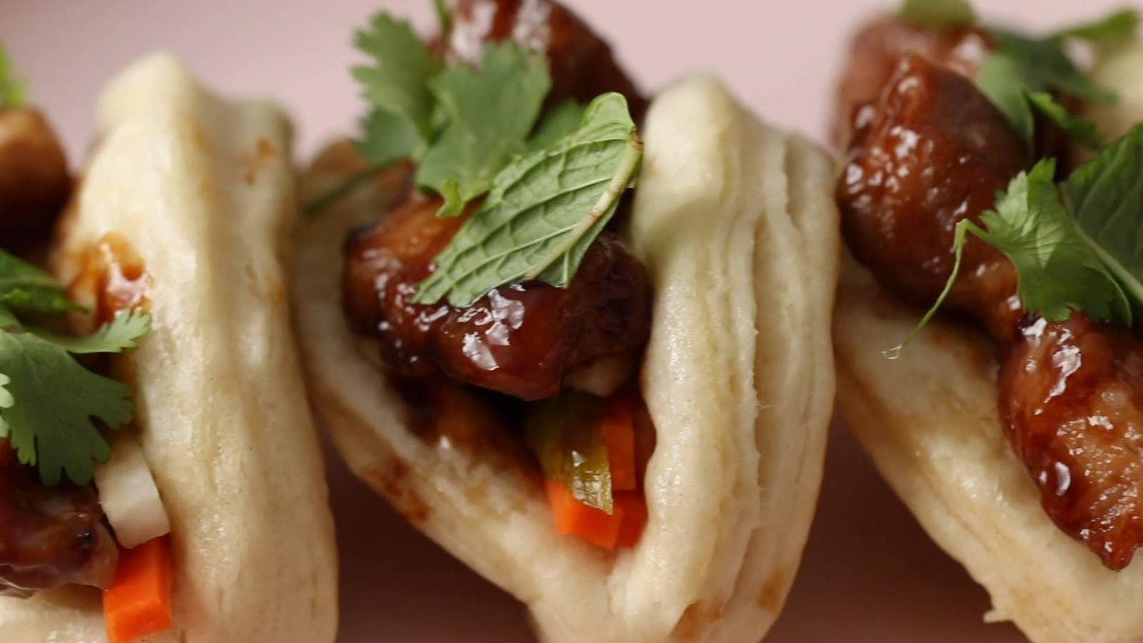 Biscuit Bao Buns