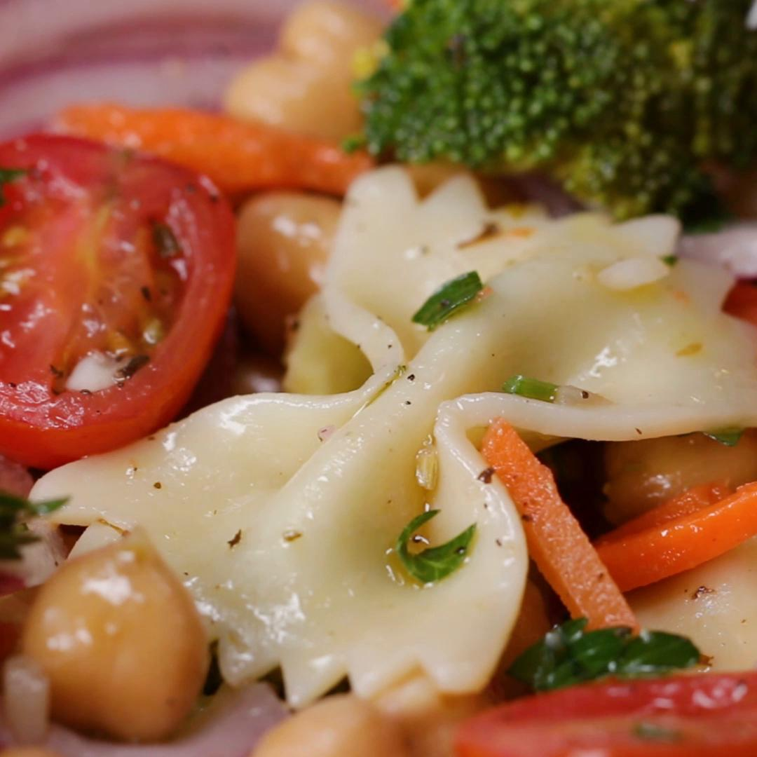 Easy Vegan Pasta Salad Recipe By Tasty