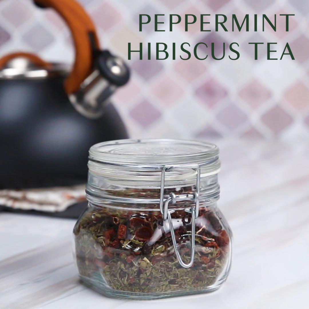 Peppermint Hibiscus Tea Recipe By Tasty