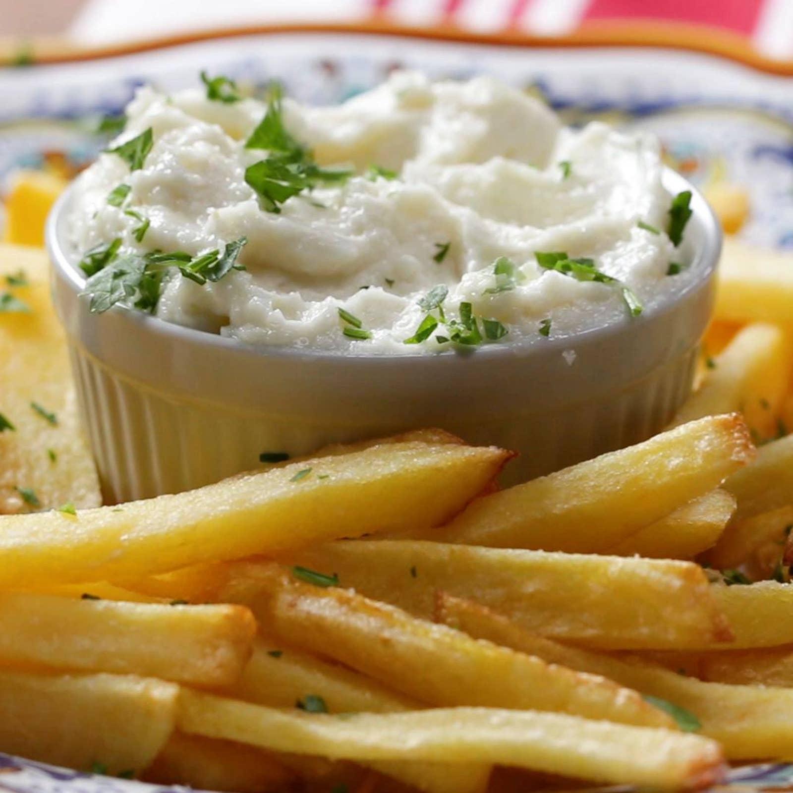 Lebanese Batata Maqlieh