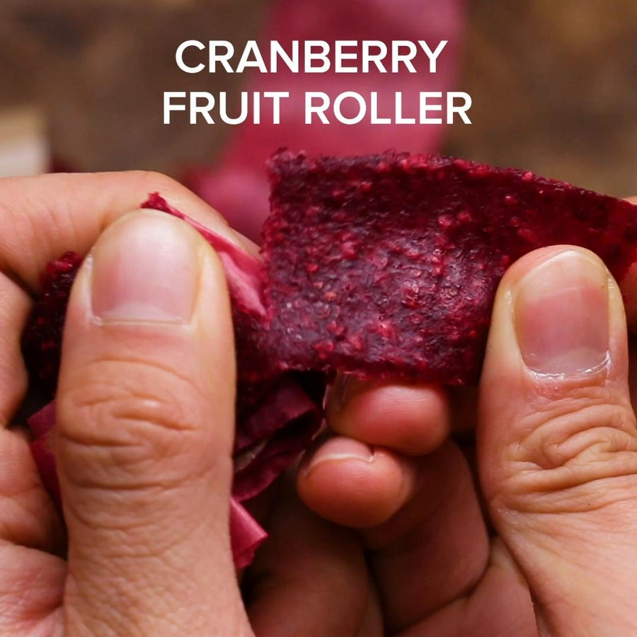 Cranberry Fruit Rollers