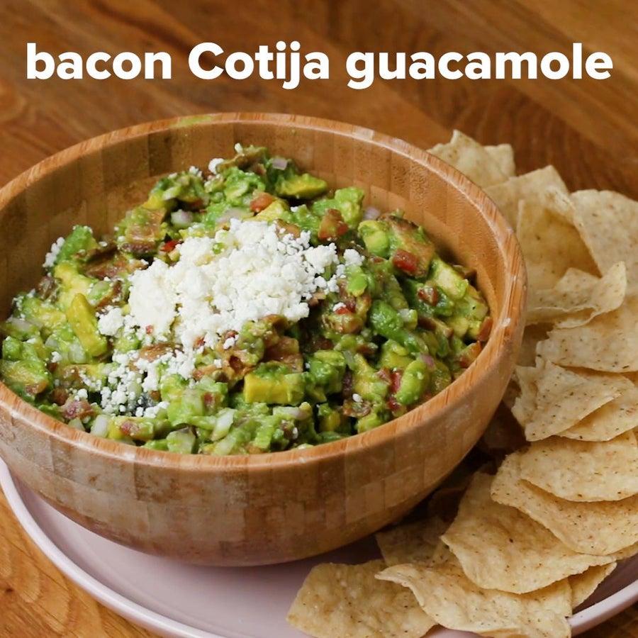 Bacon Cotija Guacamole