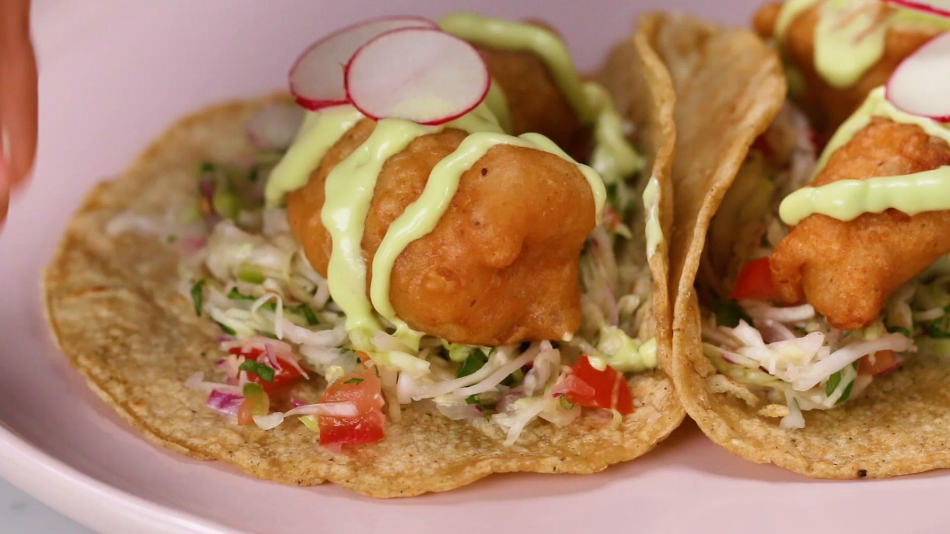 Crispy Fish Tacos Recipe by Tasty image