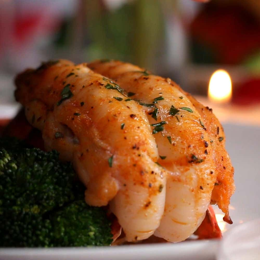 baked lobster tails recipe by tasty