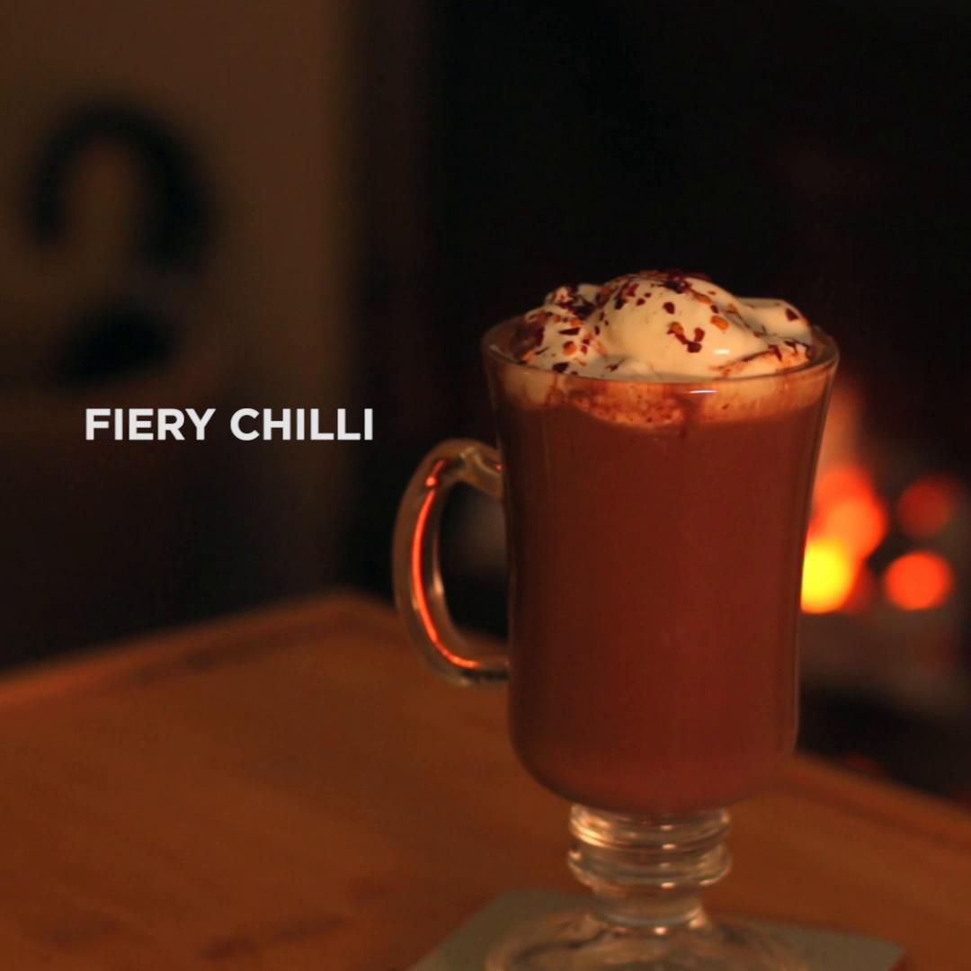 Salted Caramel Hot Chocolate Recipe By Tasty
