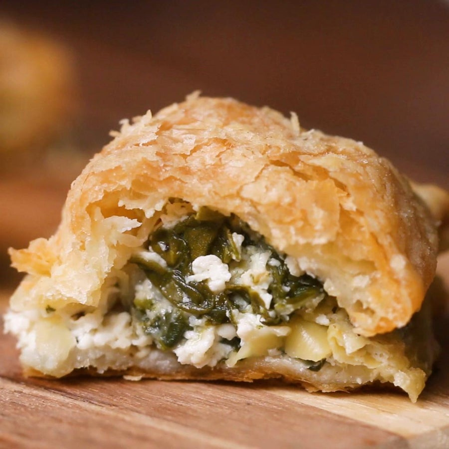 Savory Puff Pastry Pockets