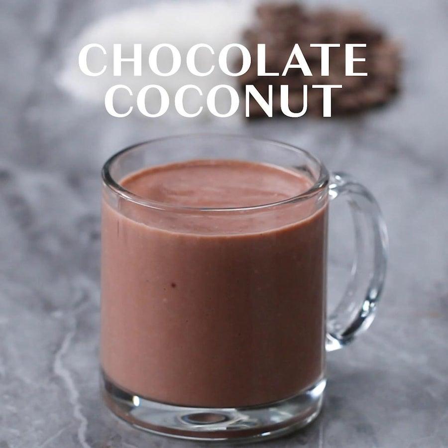 Chocolate Coconut Winter Smoothie
