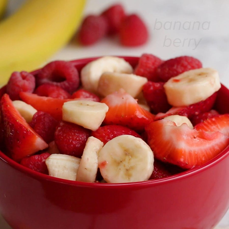 Banana Berry Fruit Salad