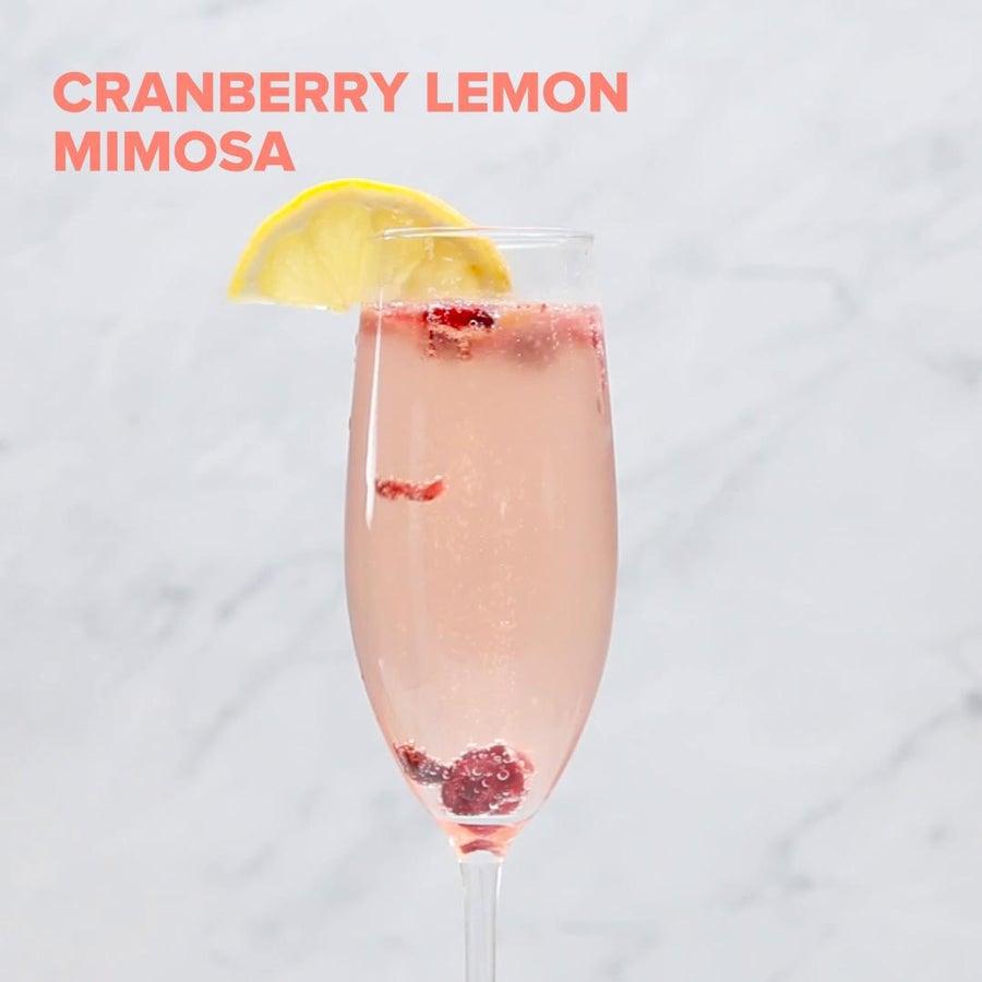 Cranberry Lemon Mimosa