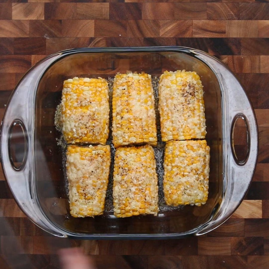 Butter Parmesan Corn