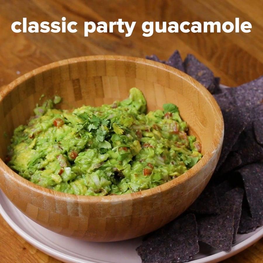 Classic Party Guacamole