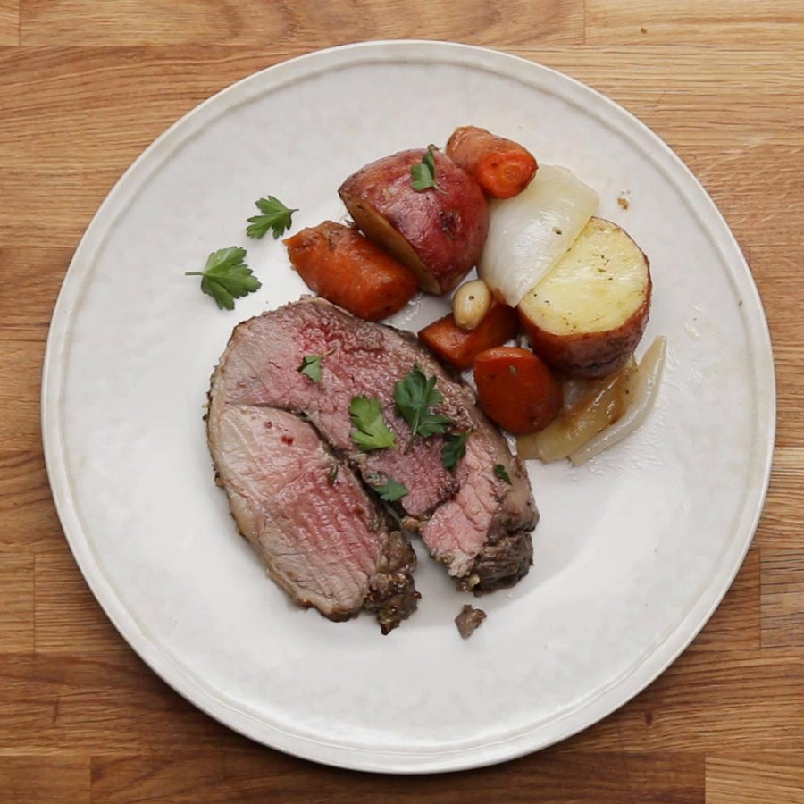 Roast Lamb For Easter