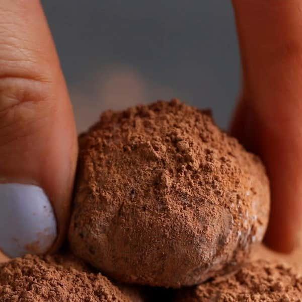 Easy Chocolate Truffles 4 Ways by Tasty