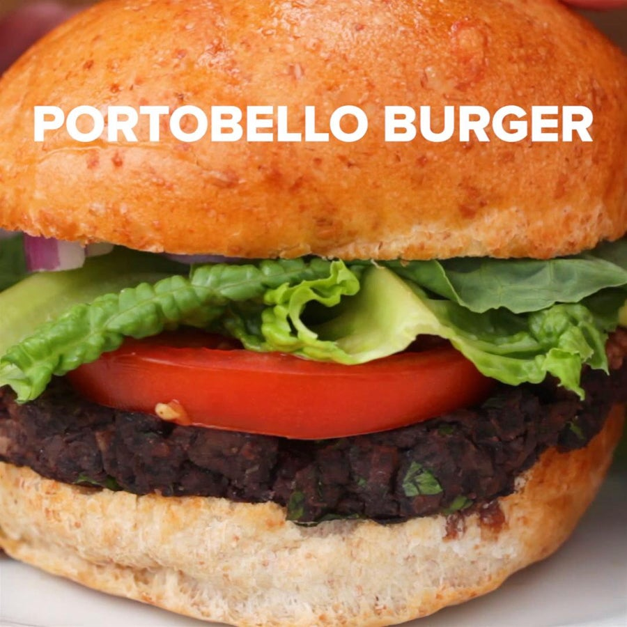 Portobello Veggie Burgers
