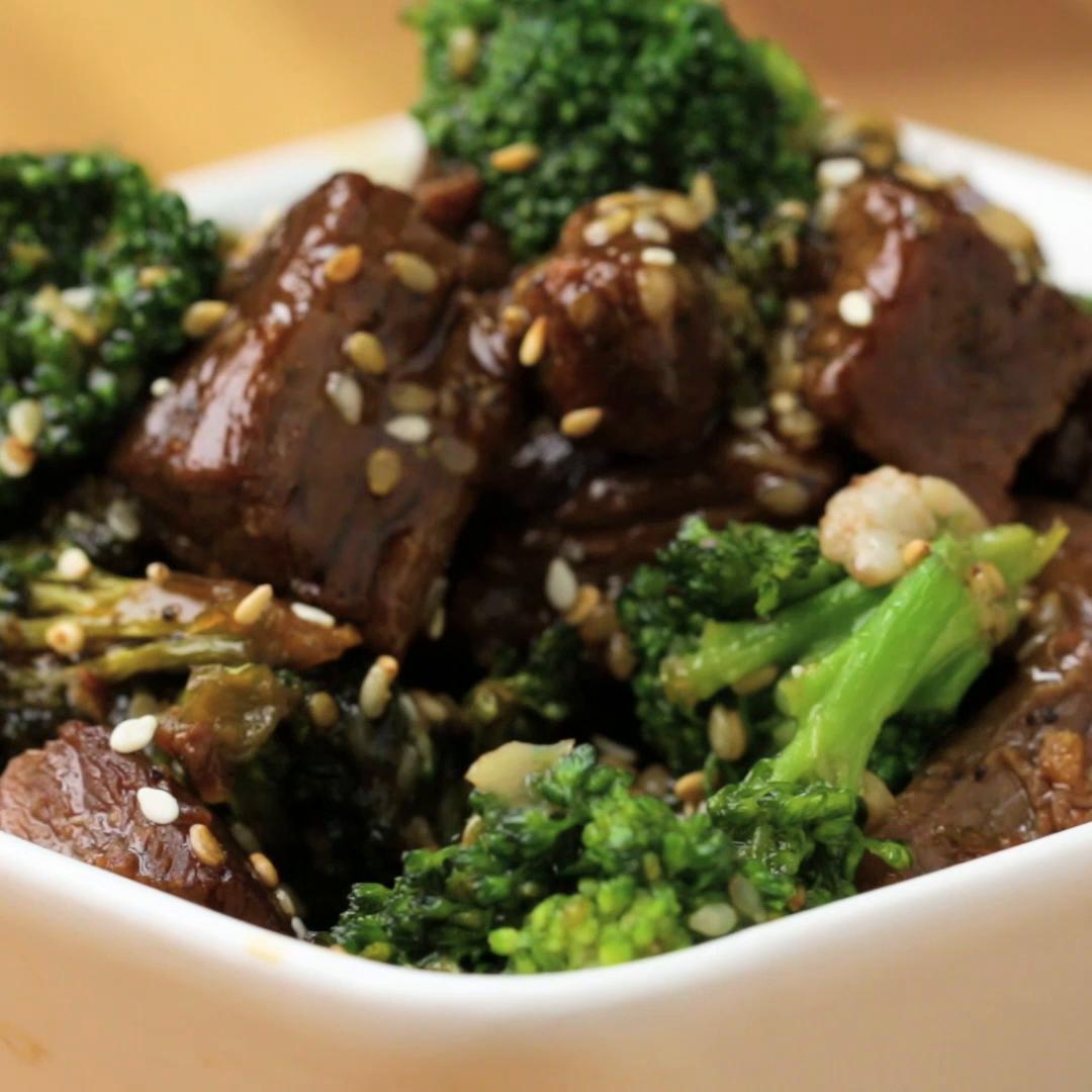 One Pan Beef And Broccoli Stir Fry Recipe By Tasty