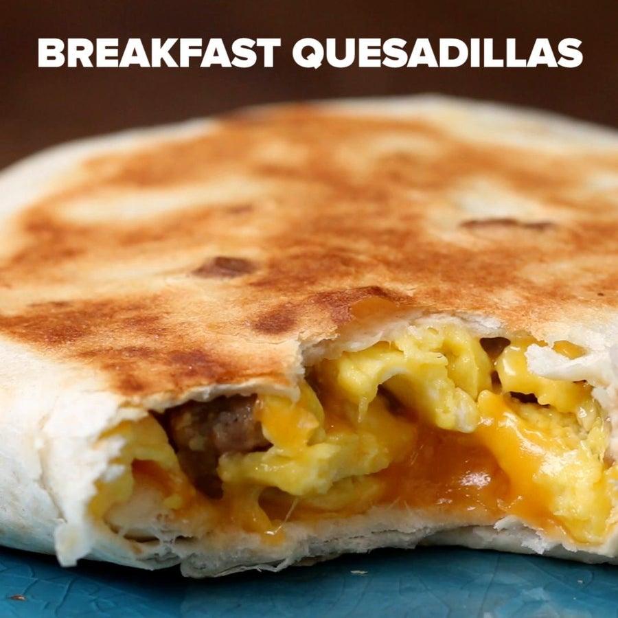 Make-Ahead Breakfast Quesadilla