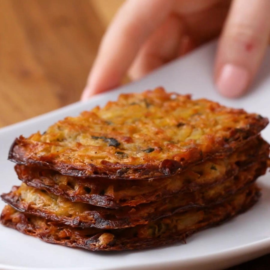 Cheddar-chive Hash Browns