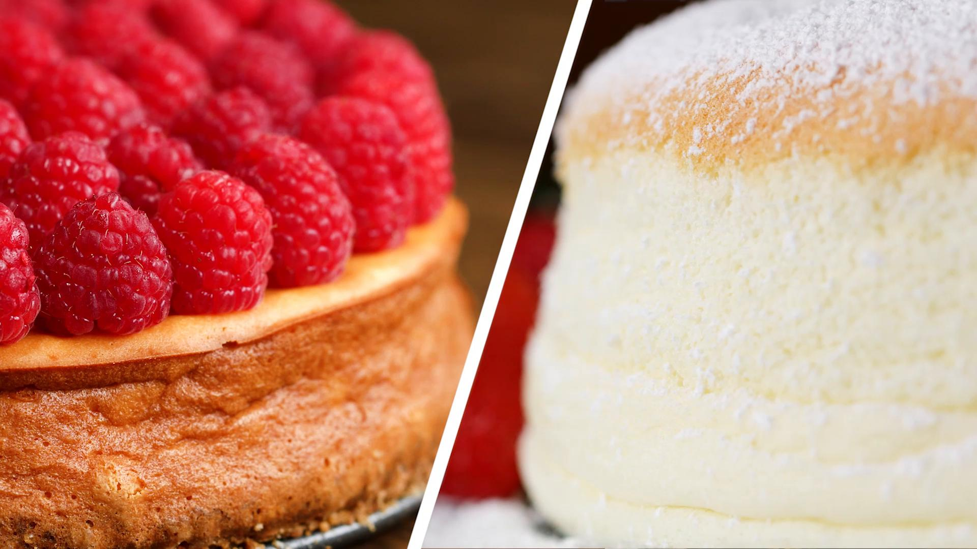 American Vs Japanese Cheesecake Recipes