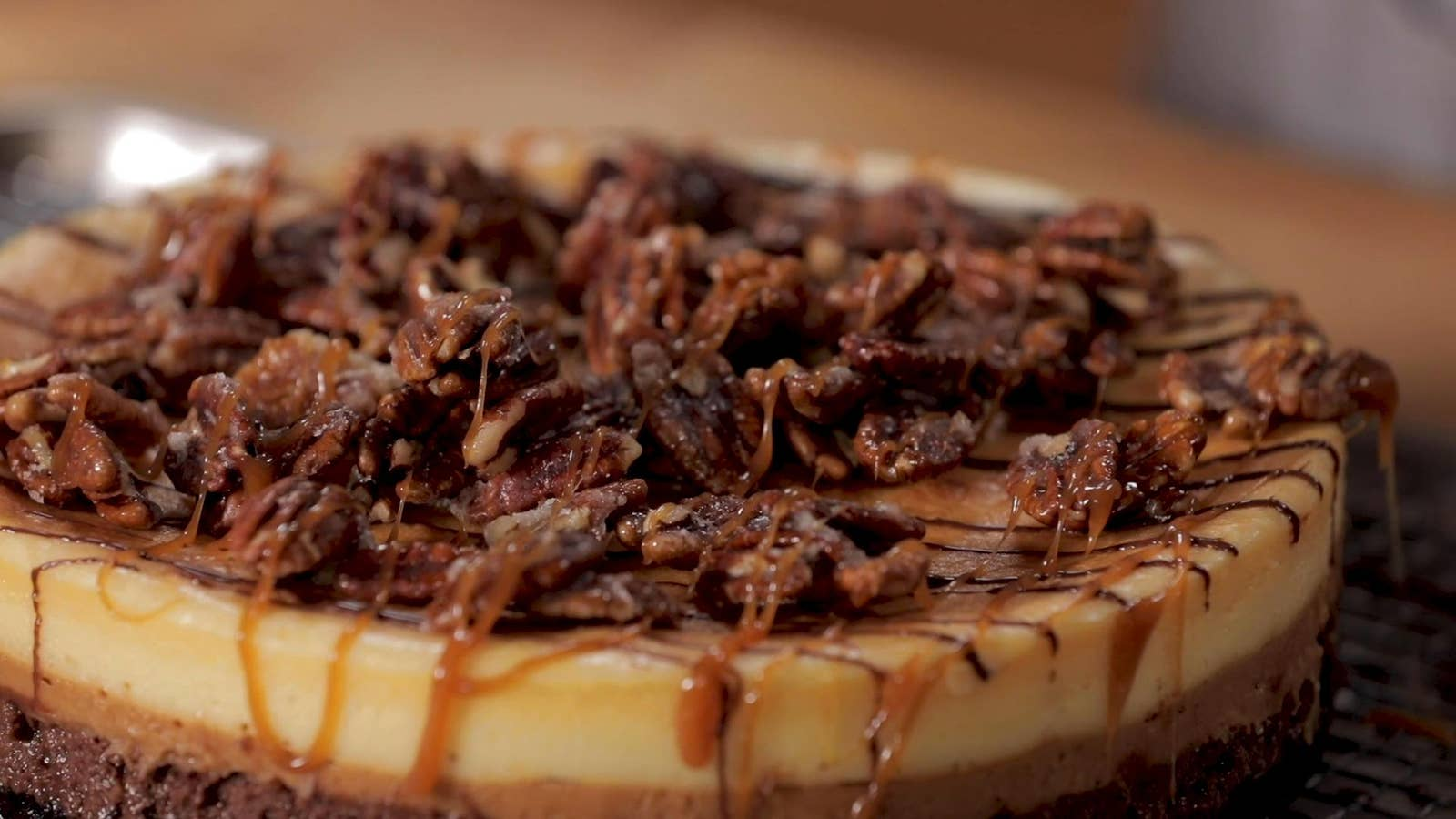 2-Day Turtle Cheesecake