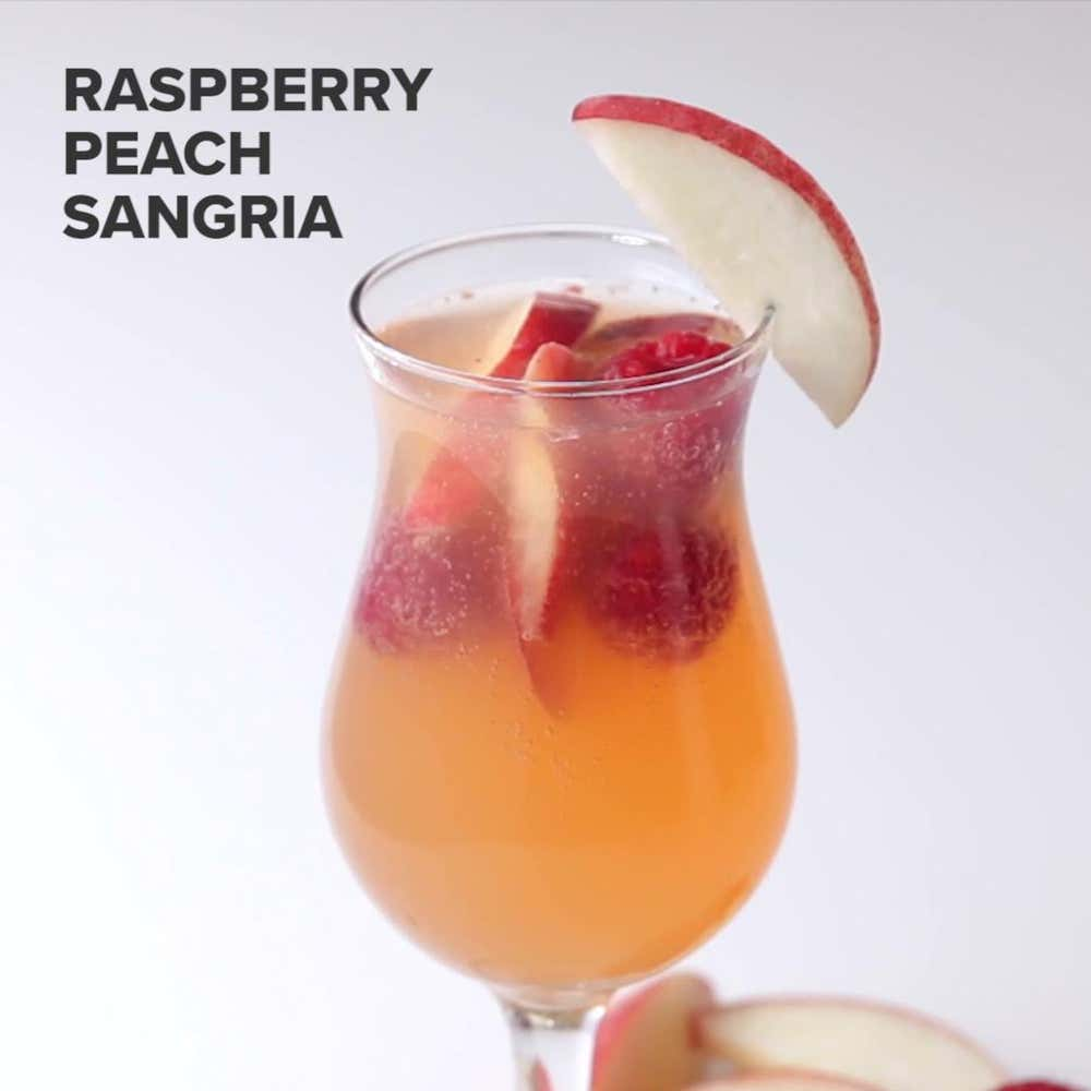 Raspberry peach sangria recipe by tasty raspberry peach sangria thecheapjerseys Image collections
