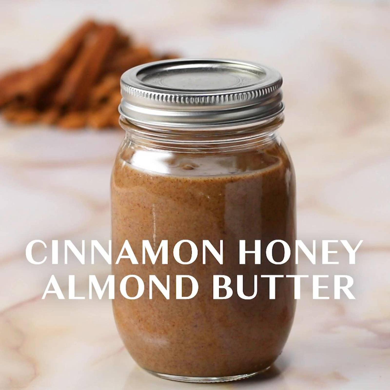 Cinnamon Honey Almond Butter