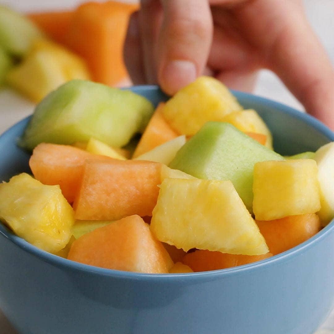 Mango Melon Fruit Salad Recipe By Tasty
