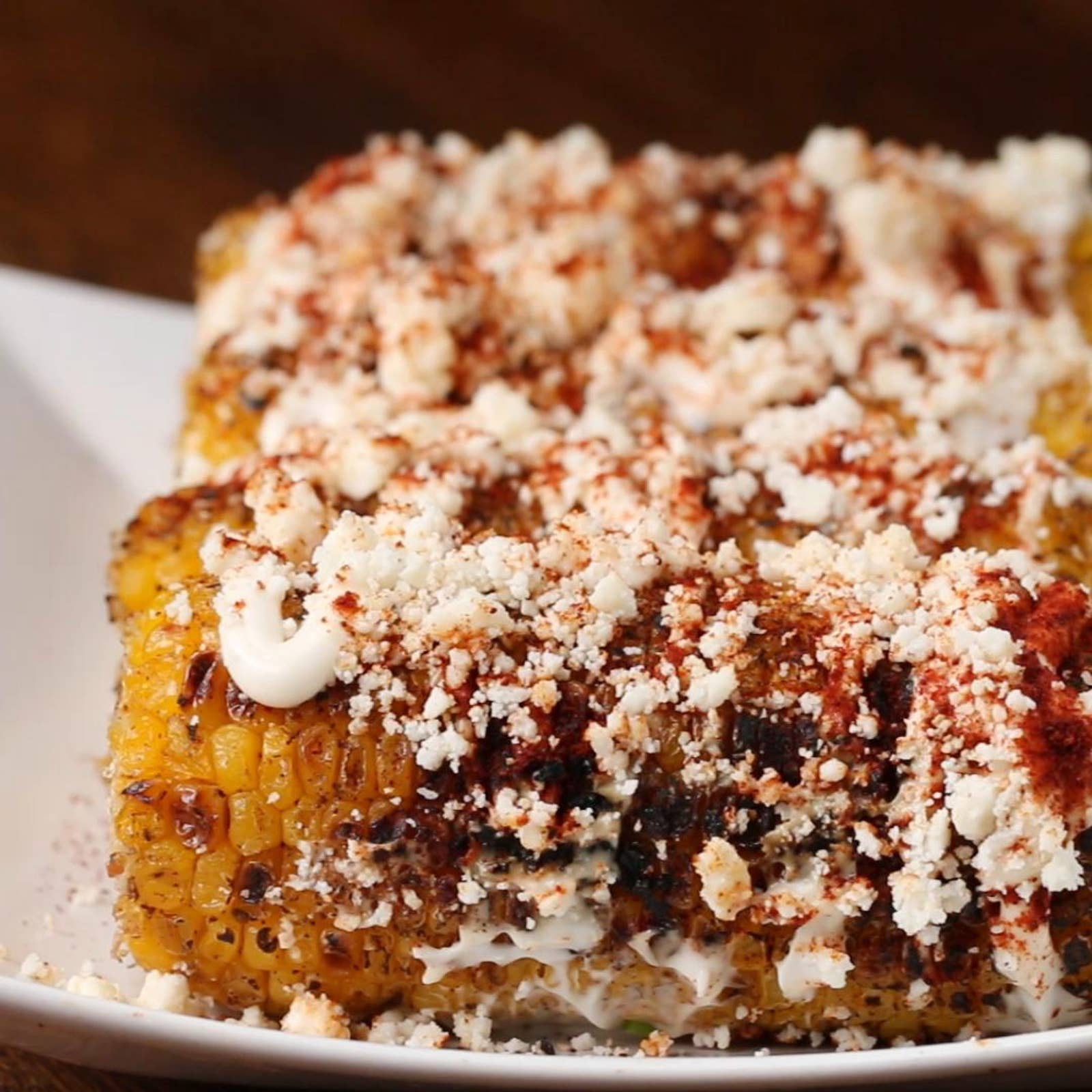 Cotija Chili Lime Grilled Corn