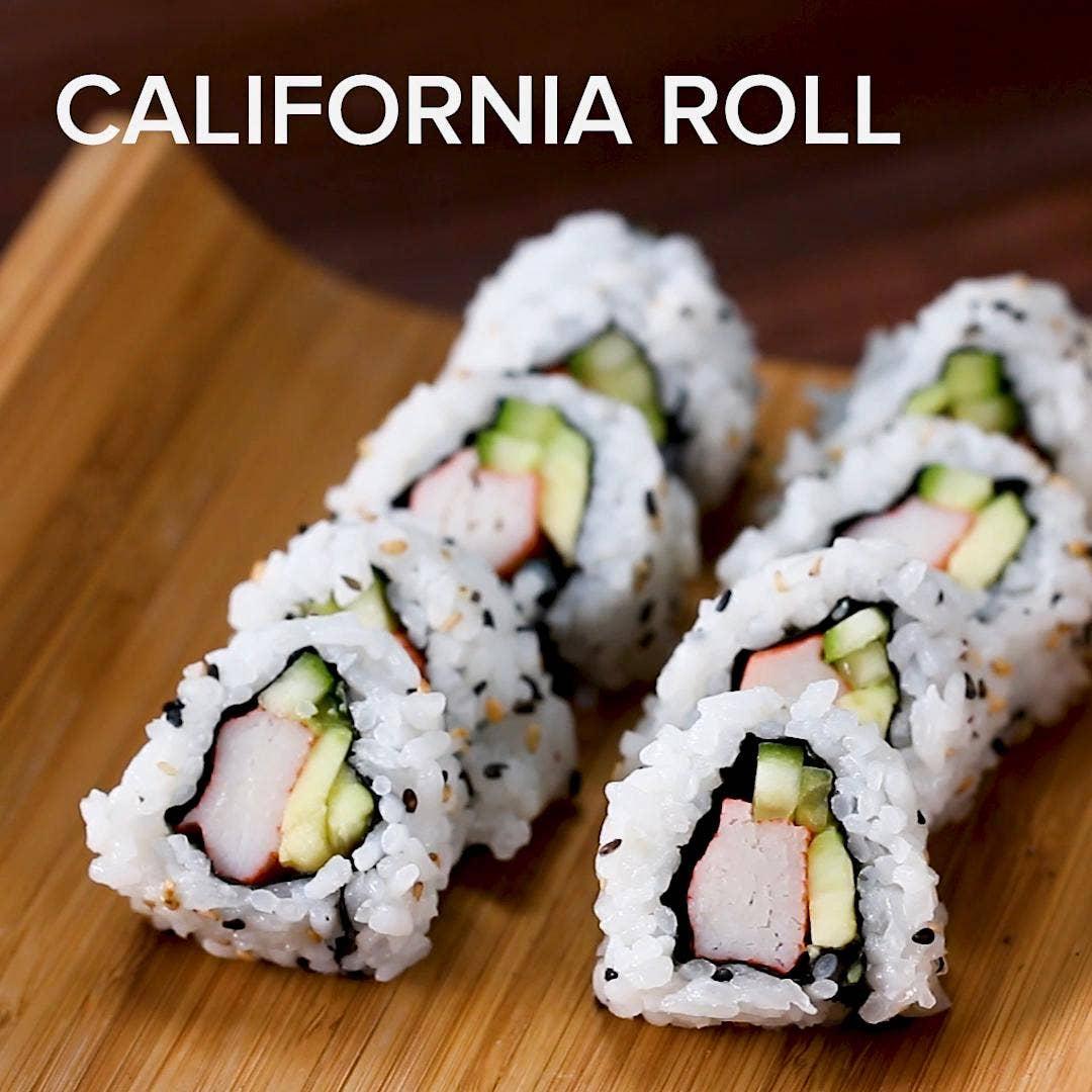 California Roll Recipe By Tasty