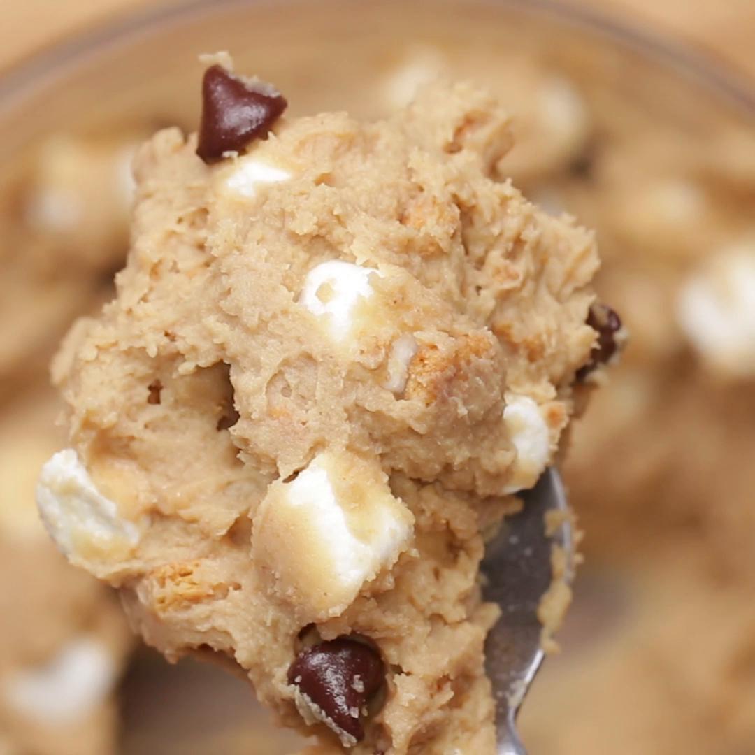Smores Chickpea Cookie Dough