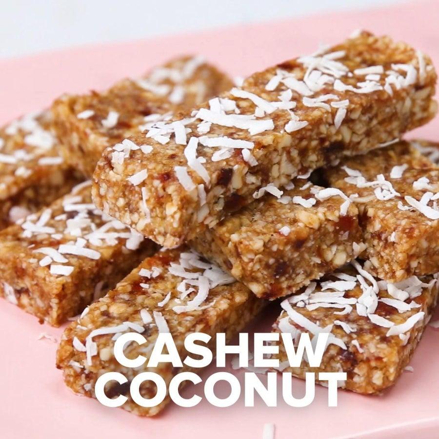 Cashew Coconut Bars