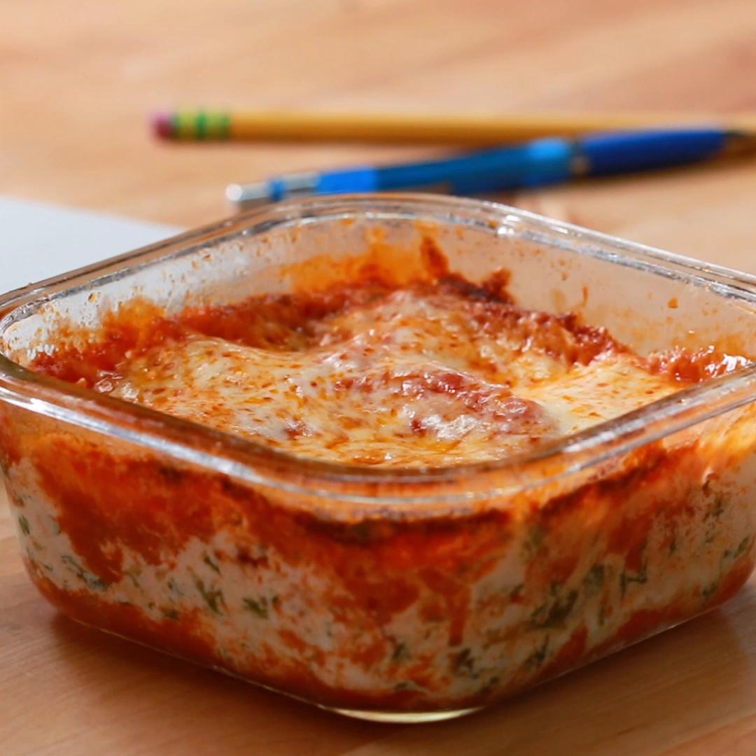 Microwave Meal Prep Lasagna Recipe By Tasty