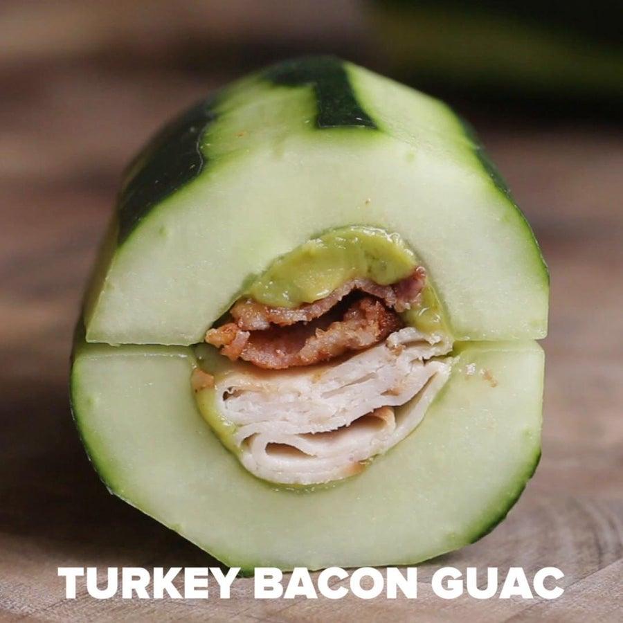 Turkey Bacon Guacamole Cucumber Sub