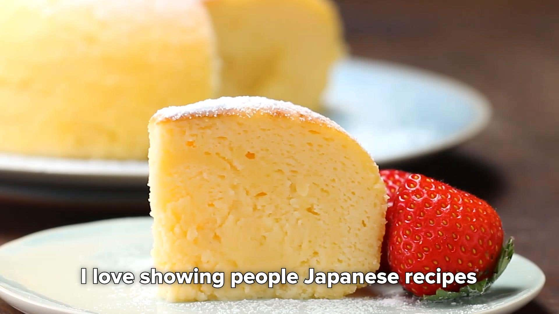 Easy Rice Cooker Fluffy Cheese Cake Recipe By Tasty