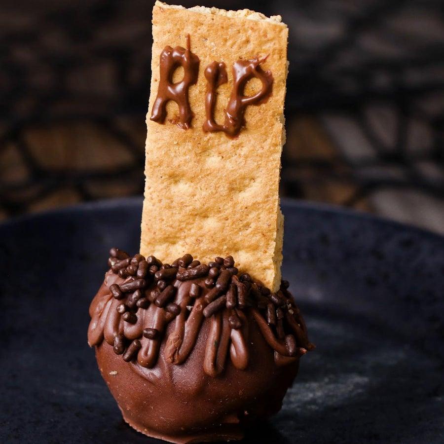 Tombstone 'Box' Brownie Bites