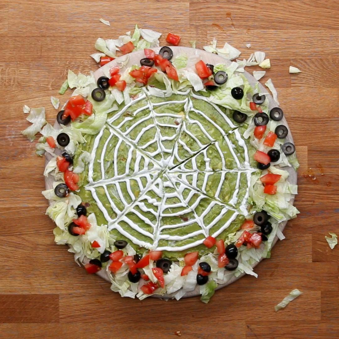 halloween layered dip recipetasty