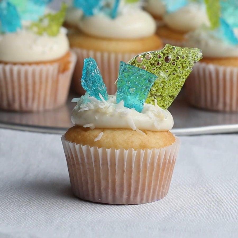 White Walker Cupcakes