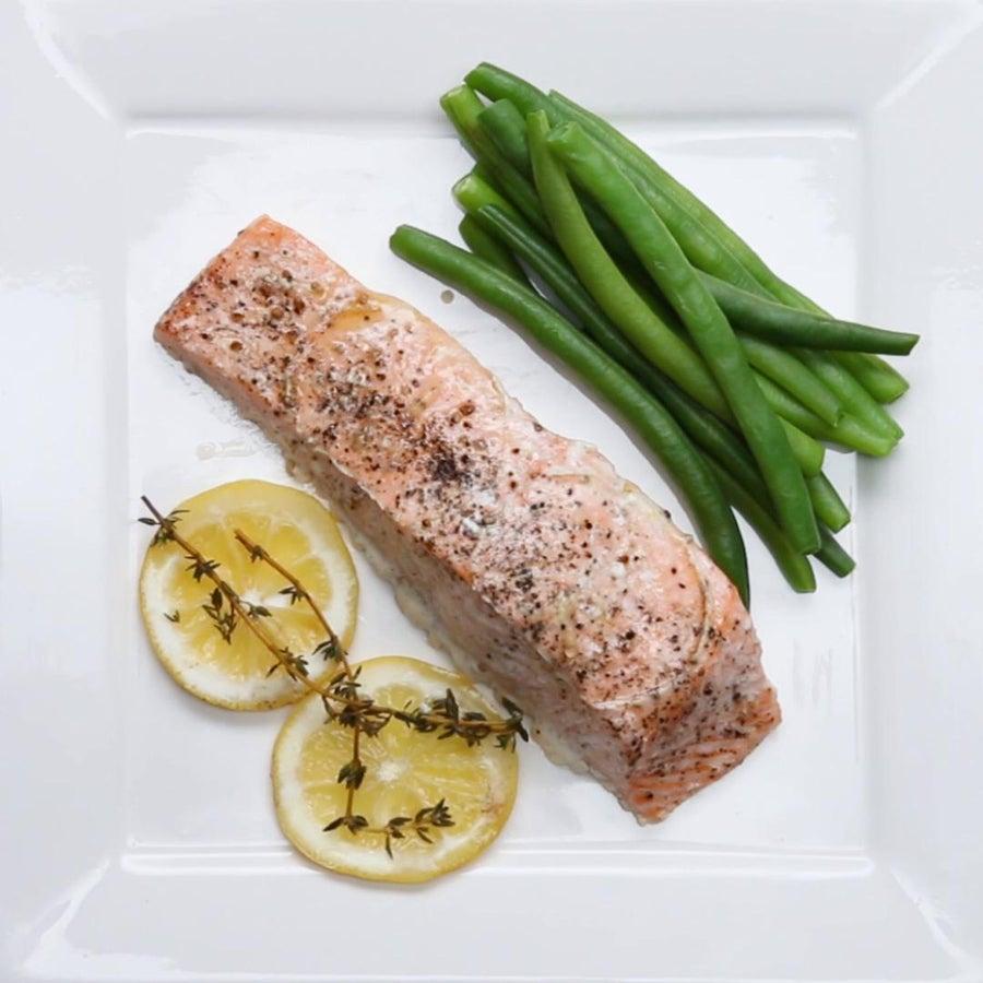 Parchment-wrapped Salmon (en Papillote)