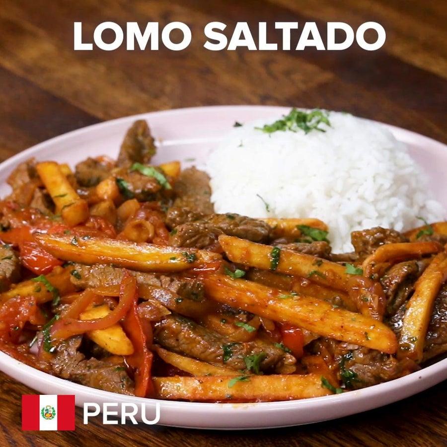 Peruvian Lomo Saltado