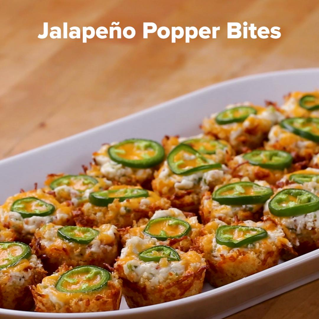 Jalapeno Popper Bites Recipe By Tasty