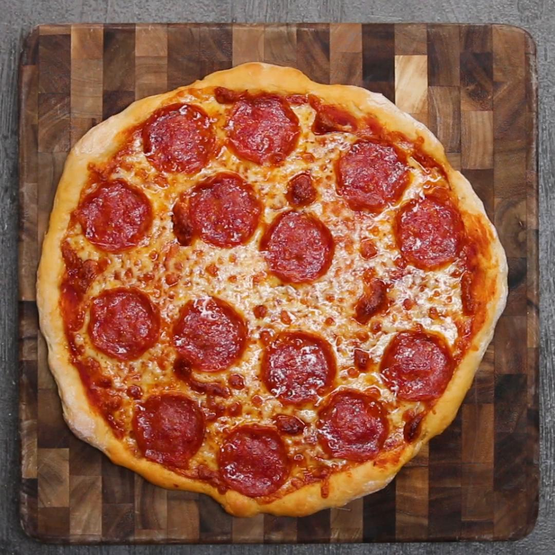 2-Ingredient Dough Pizza Recipe by Tasty