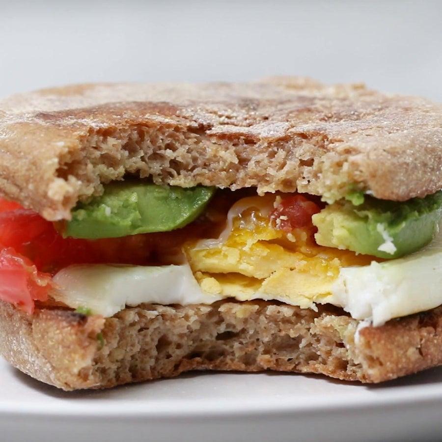 Breakfast Sandwiches In A Jar