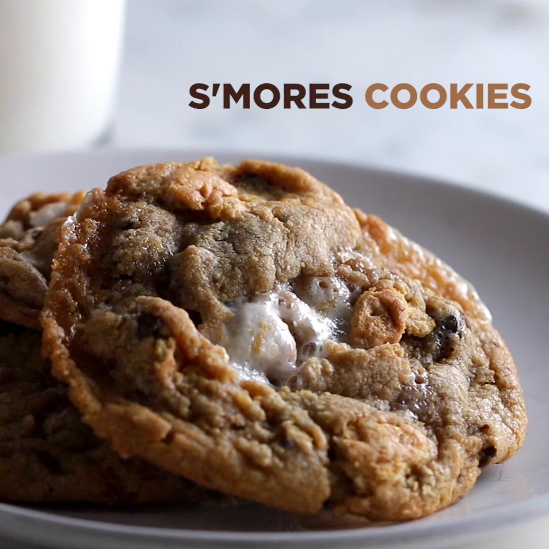S'mores Cookies Recipe By Tasty