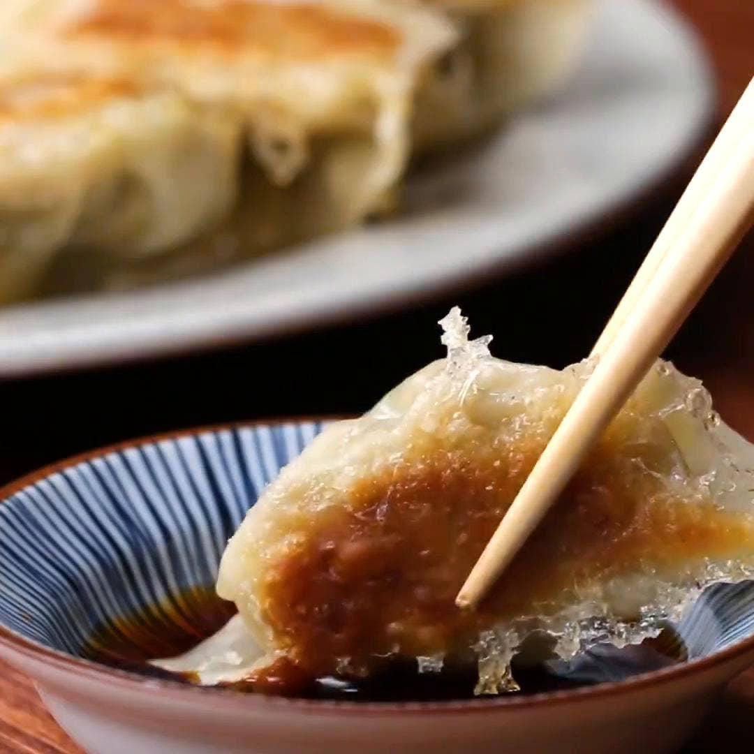 Gyoza Dumplings Recipe By Tasty