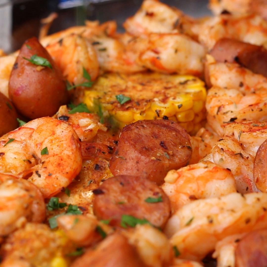 Cajun Shrimp Bake Recipe by Tasty