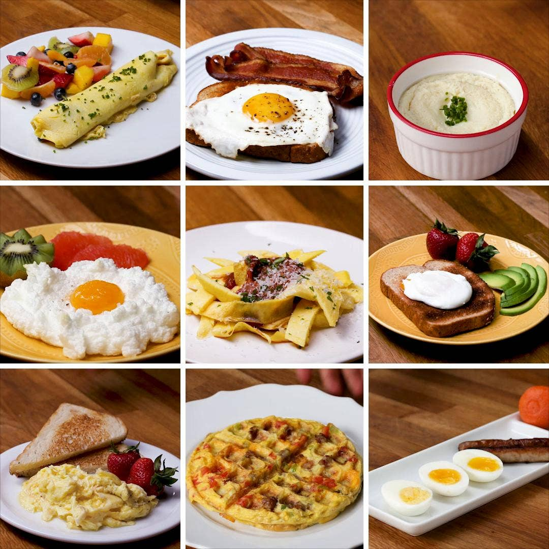 9 Crazy Easy Ways To Cook Eggs Recipes