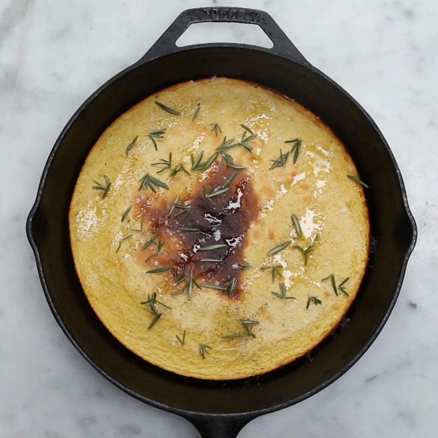 Savory Gluten-Free Chickpea Pancake