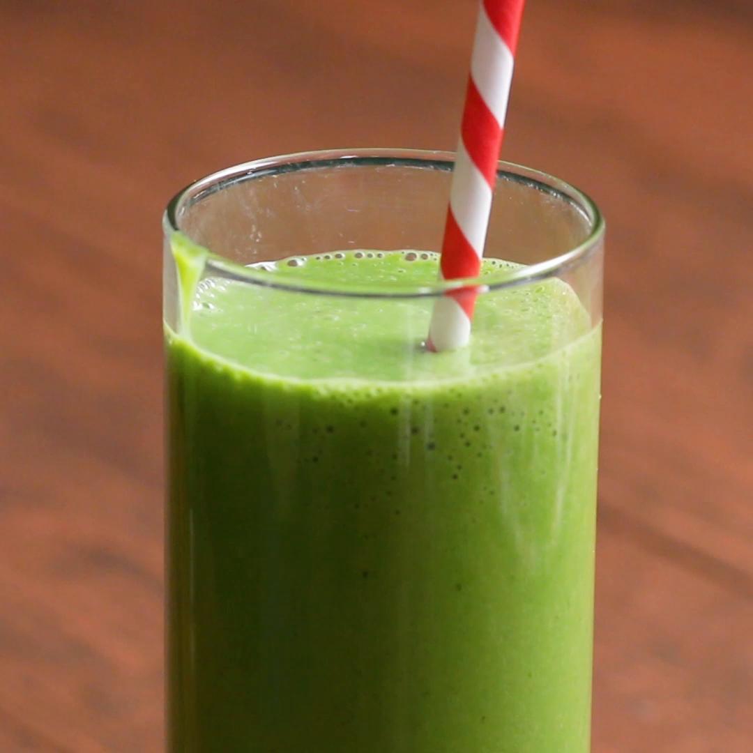 Greek Yogurt Green Smoothie Recipe By Tasty