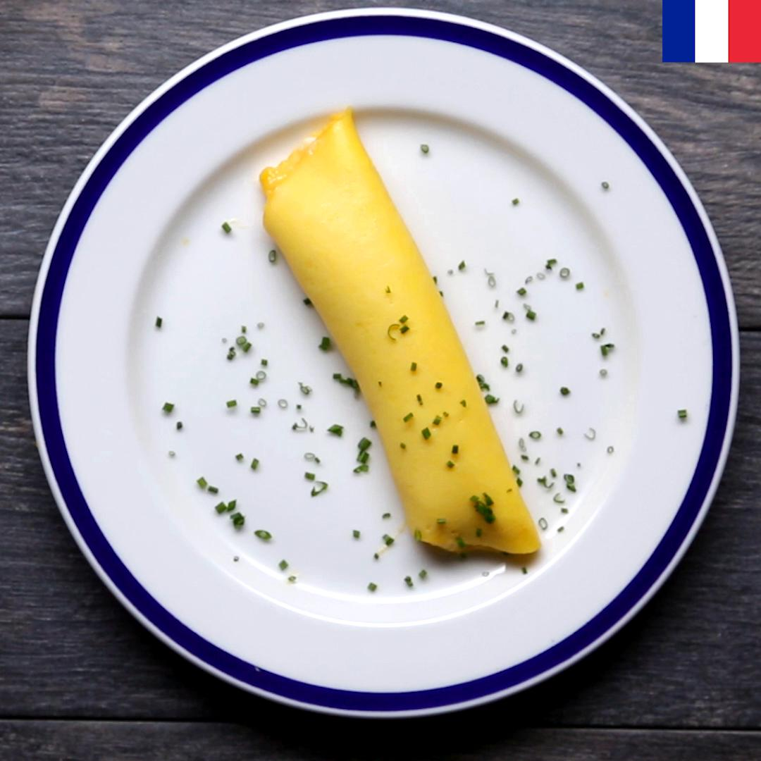 French Omelette Recipe By Tasty